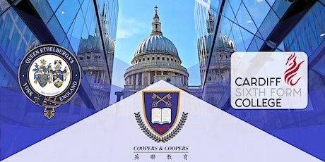 In-house Seminar【Queen Ethelburga's College & Cardiff Sixth Form College】 tickets