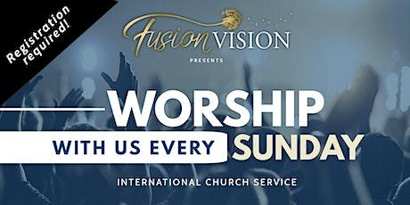 Fusion Sunday Service tickets