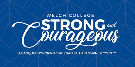 Strong & Courageous 2020 tickets