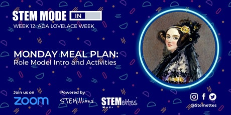 STEM MODE IN - Week 12: Monday Meal Plan (Zoom) tickets