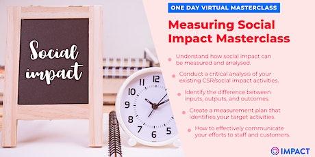 Impact:Sprint - Measuring Social Impact Masterclass tickets