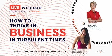 How to Thrive in Business in Turbulent Times tickets