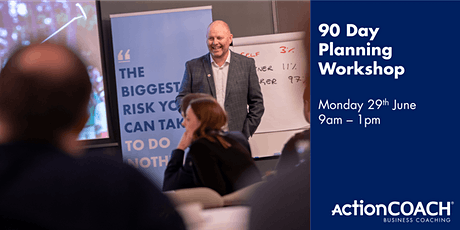 FREE 90 Day Business Planning Workshop tickets