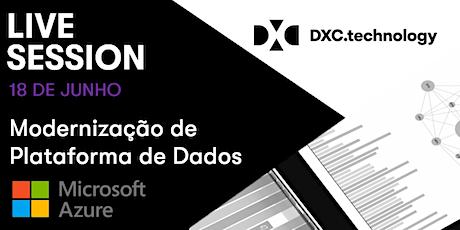 Live Session   Modernização de Plataforma de Dados com Microsoft Azure ingressos