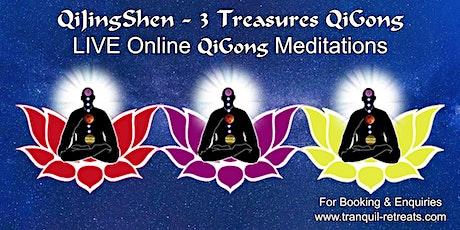 QiJingShen 3 Treasures QI GONG tickets