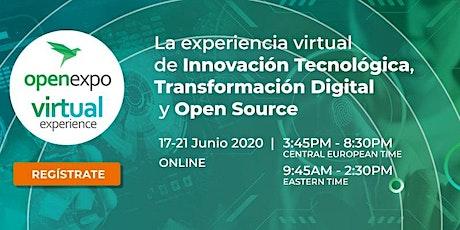 OpenExpo Virtual Experience #Innovación #TransformaciónDigital #OpenSource entradas
