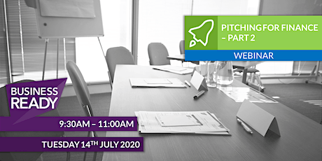 Pitching for Finance (Part 2) Webinar tickets
