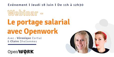 Découvrez le portage salarial avec Openwork billets