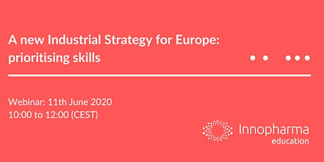 A new Industrial Strategy for Europe: prioritising skills tickets