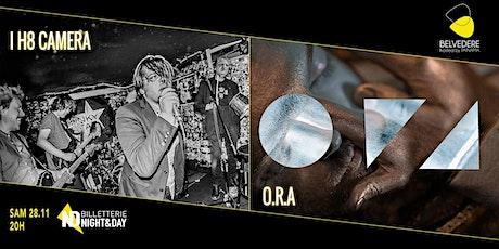 I H8 Camera + ORA tickets