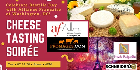 Bastille Day with AFDC: Cheese Tasting Soirée/ Let Them Eat Cheese! tickets