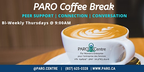 PARO Coffee Break - Aug. 13th tickets