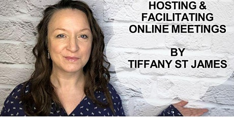 Webinar: Hosting And Facilitating Online Meetings (cost £25) Tickets
