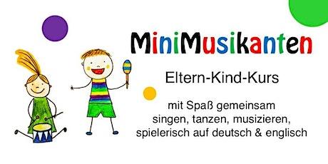 MiniMusikanten • Online Live Mitmach-Session • Di, 09.06.20, 16h Tickets