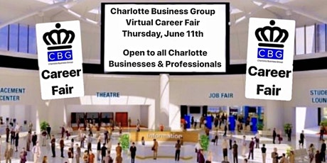Charlotte's First Ever Virtual Career Fair on Thursday, June 11th tickets