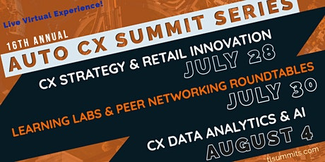 paypalAutomotive CX Summit Series - Live Virtual Experience! tickets