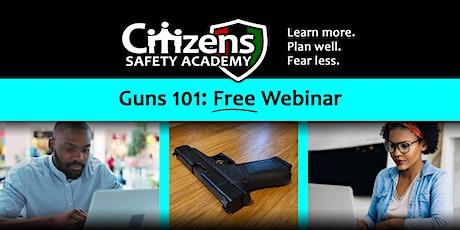 Guns 101 Webinar tickets
