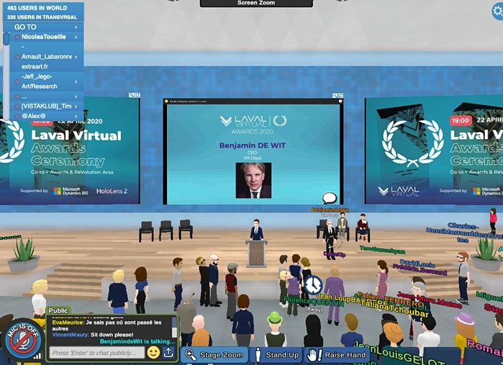 Laval Virtual Days Emerging Worlds image