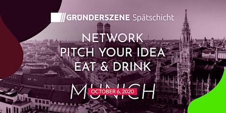 Gründerszene Spätschicht Munich - 06.10.2020 tickets