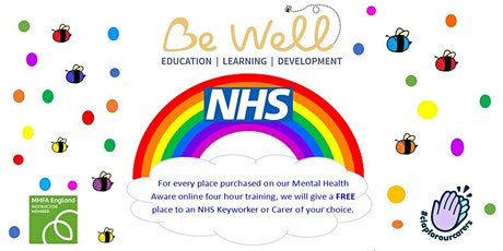Adult Mental Health Aware Four Hour Course Online tickets