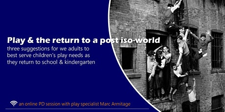 Play and the return to a post-iso world FREE ONLINE GIG tickets