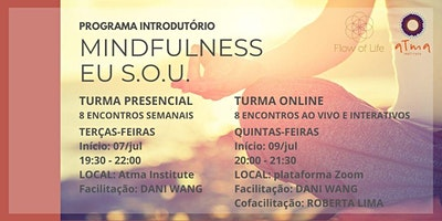 Programa Introdutório ao Mindfulness Eu S.O.U. Ju