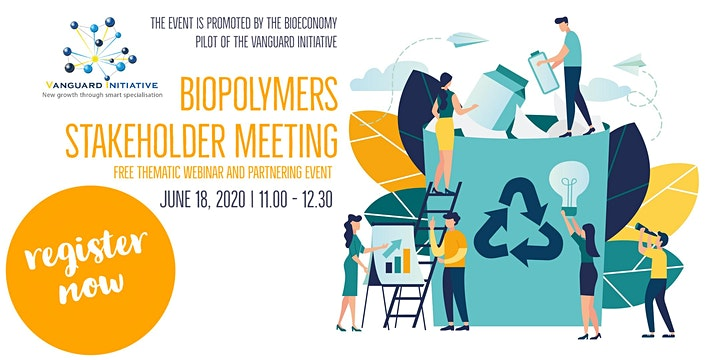 Biopolymers stakeholder meeting. Free thematic webinar and partnering event image