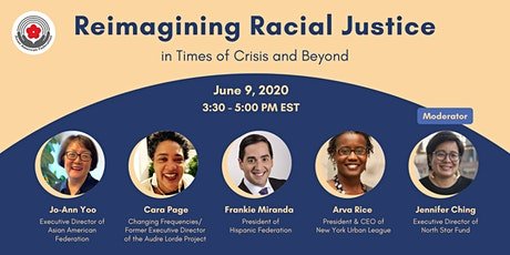 Reimagining Racial Justice in Times of Crisis & Beyond tickets