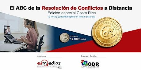 ABC de la Resolución de Conflictos a Distancia - CR tickets