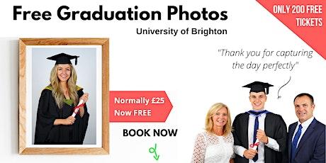Brighton Uni FREE Graduation Photos tickets