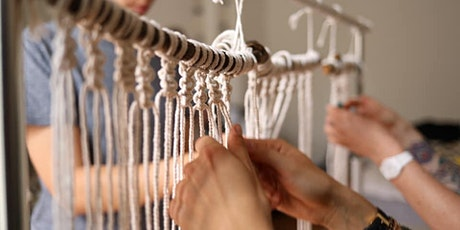 How to make your first Macrame Masterpiece LIVE Webinar Tickets