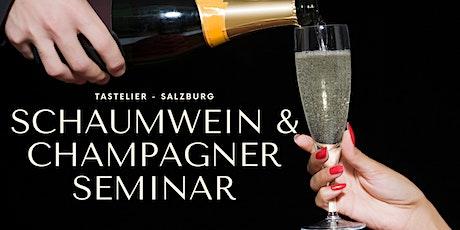 Schaumwein & Champagner Seminar | Prickelndes Wissen Tickets