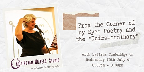 """From the Corner of my Eye: Poetry and the """"Infra-ordinary"""" tickets"""