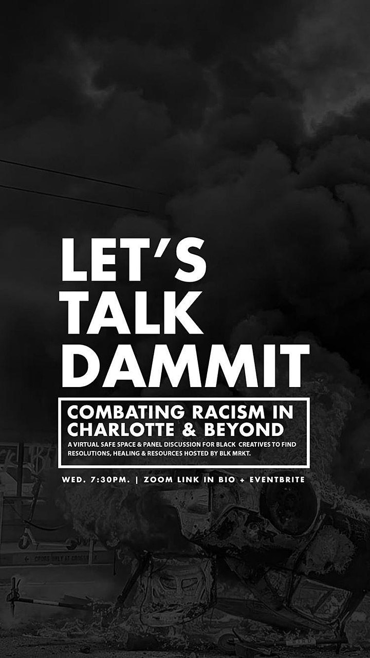 Let's Talk Dammit: Combating Racism in Charlotte & Beyond image