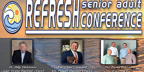 """REFRESH"" Senior Adult Conference - A18 Ministries tickets"