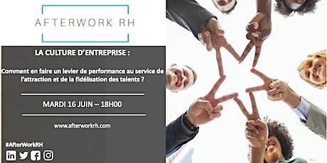 Afterwork RH Bordeaux - La culture d'entreprise billets