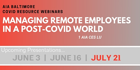 Managing Remote Employees in a Post-COVID World tickets