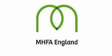 MHFA  on line half day mental  health awareness training tickets