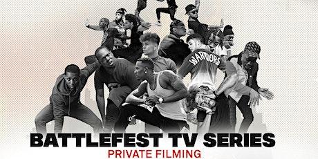 BATTLEFEST TV SERIES LA PRIVATE FILIMG tickets