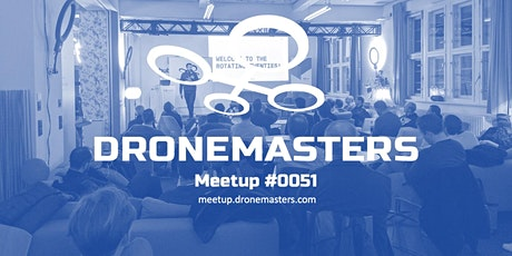 DroneMasters Meetup #051 @ hub:raum Tickets