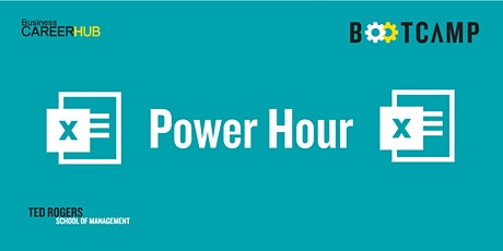 Power Hour: Excel tickets