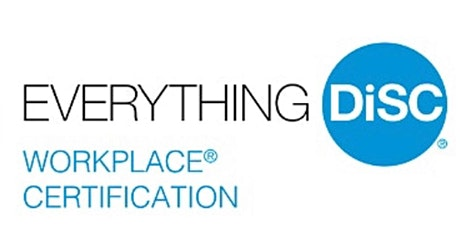 Online Everything DiSC Workplace® Certification Training tickets