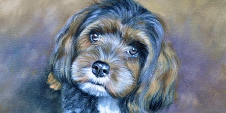 DOG Pet Portrait Oil Painting Demonstration by ShawnaLee tickets