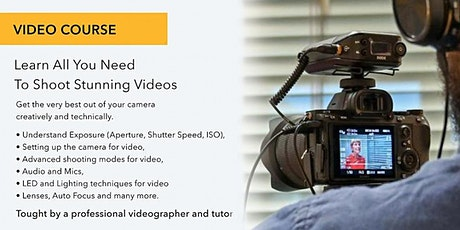 Produce High-Quality Videos with Digital SLRs - Online tickets