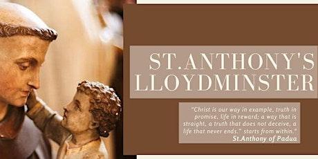 St.Anthony's Parish Lloydminster  Daily Mass Sign-Up tickets