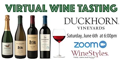 Virtual Tasting with Duckhorn Vineyards tickets