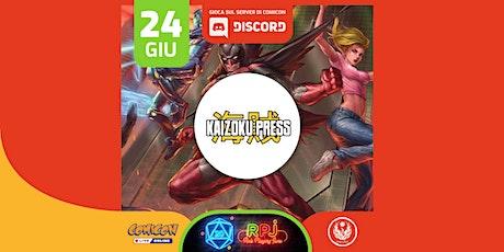 RPJ:Kaizoku Press biglietti