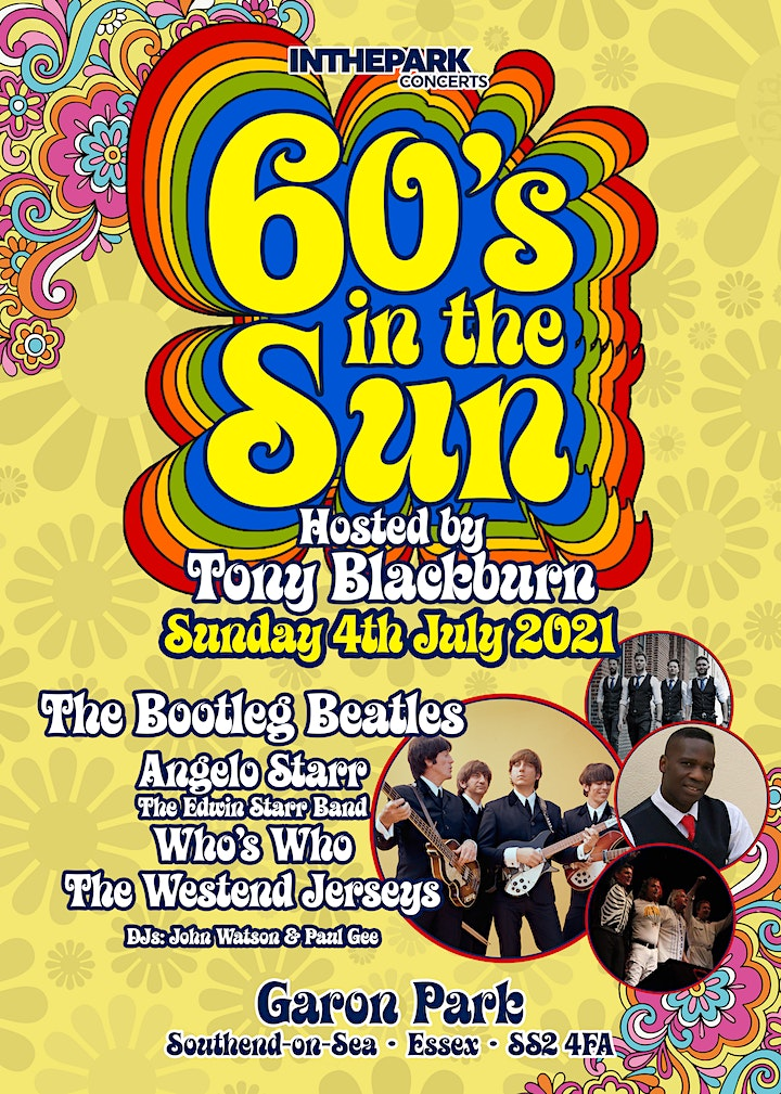 60's in the sun festival hosted by Tony Blackburn image
