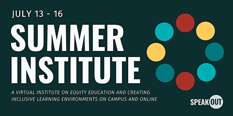 SpeakOut Summer Institute tickets