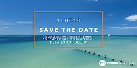 Progressive Foam Star Summit 2020 tickets